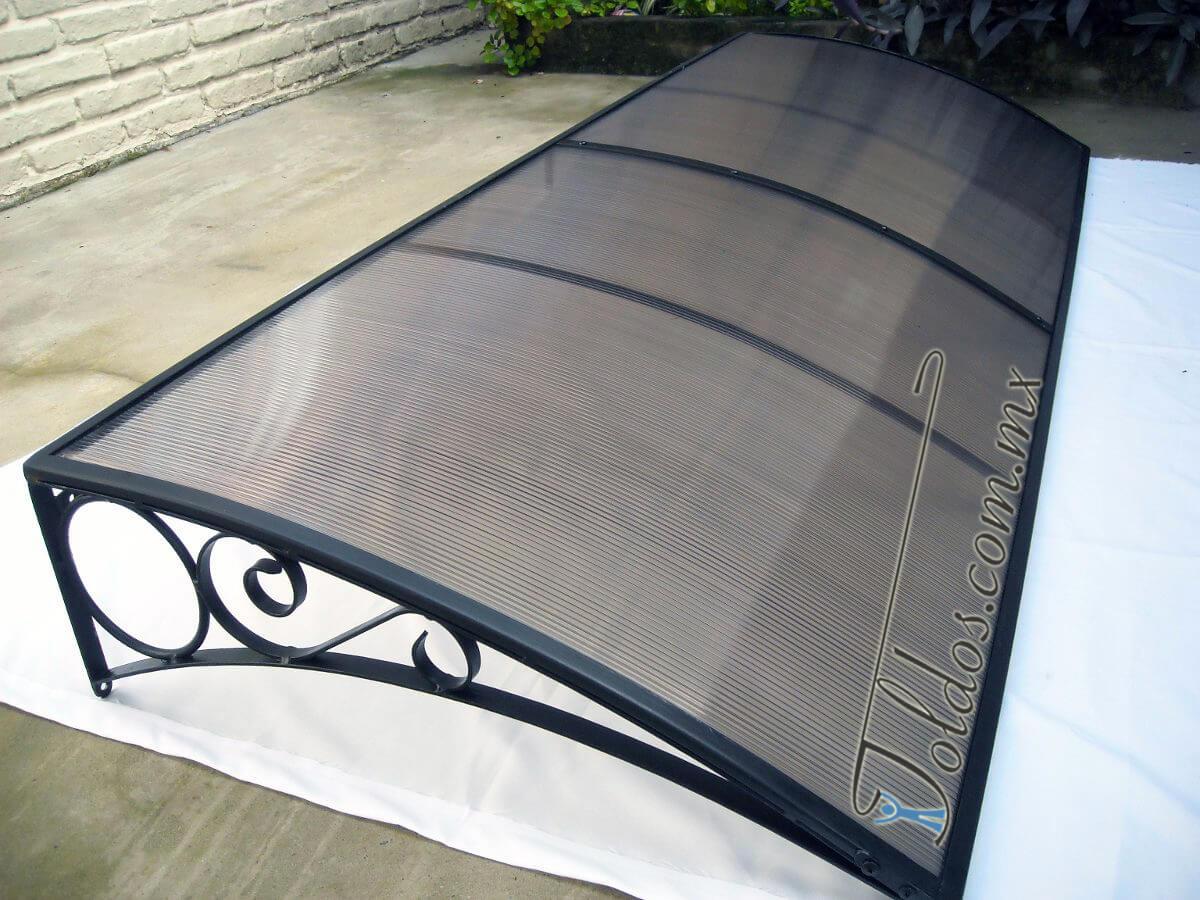 Techos de policarbonato toldos for Techos para patios exteriores