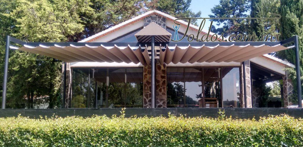 Diseños techos patios