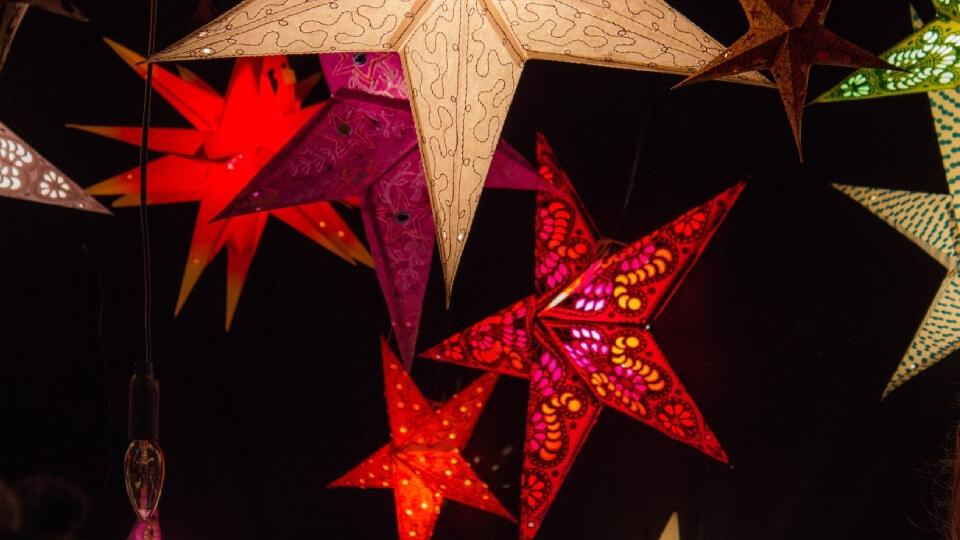 decorar toldo navidad