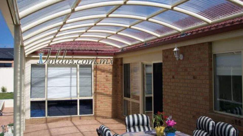 techo policarbonato frio calor
